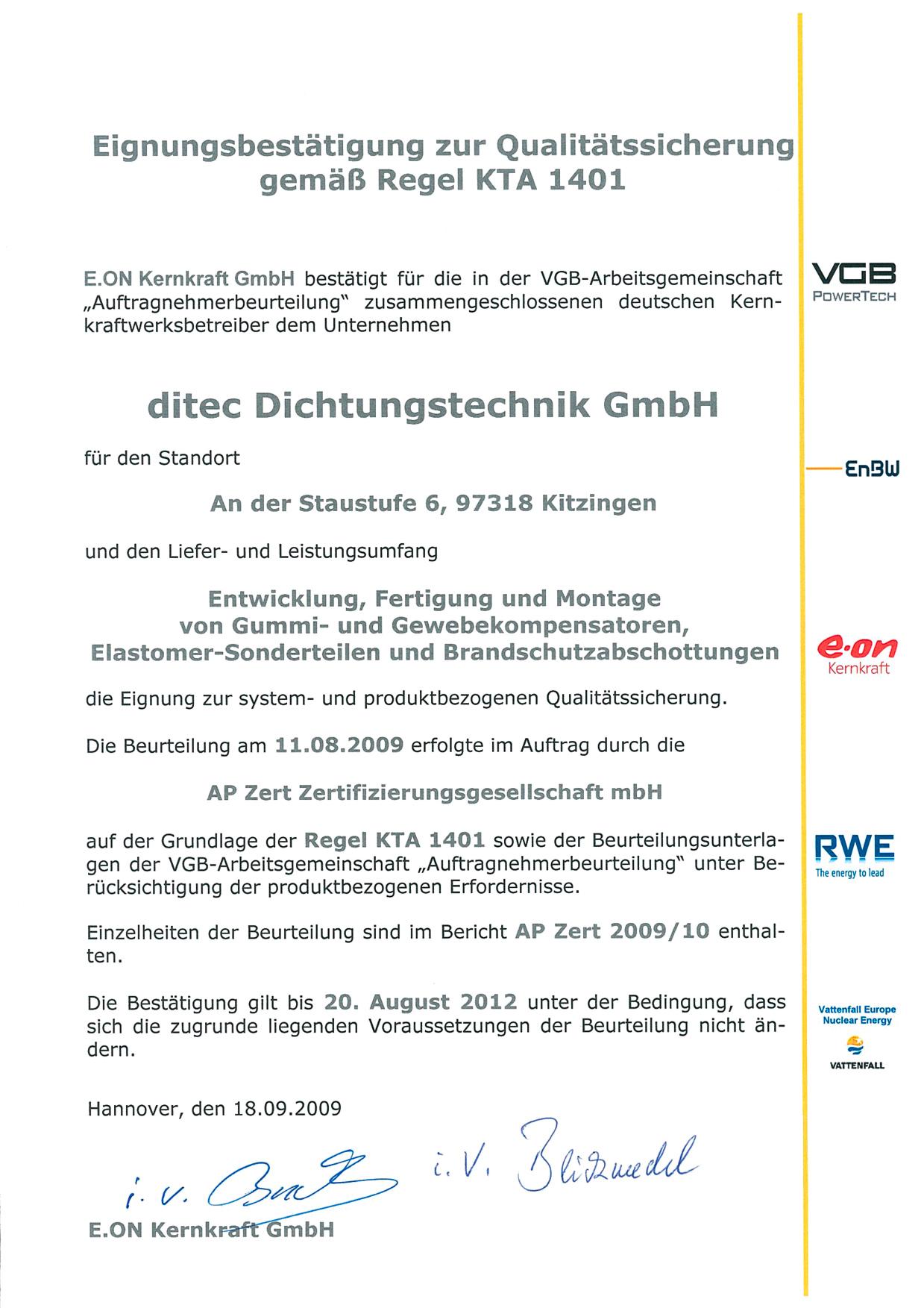 ditec Dichtungstechnik GmbH   MPS Gradior s.r.o.